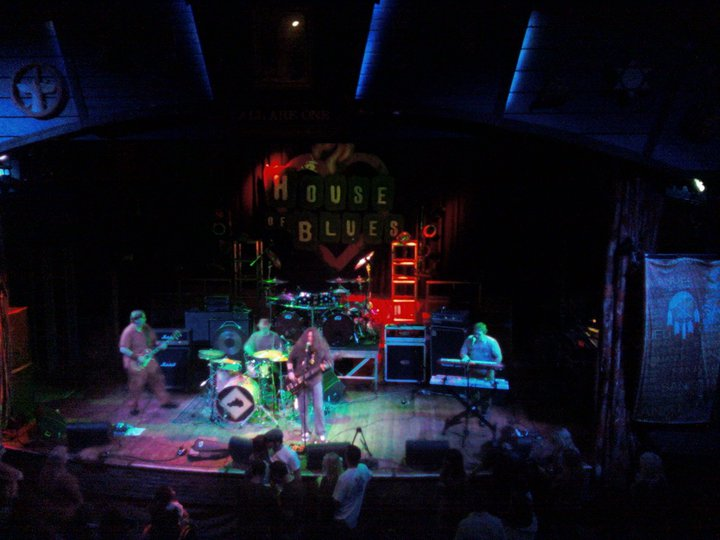 Live at The House Of Blues main stage in W. Hollywood, CA (4-4-11)  photo by Gina Spiropoulos