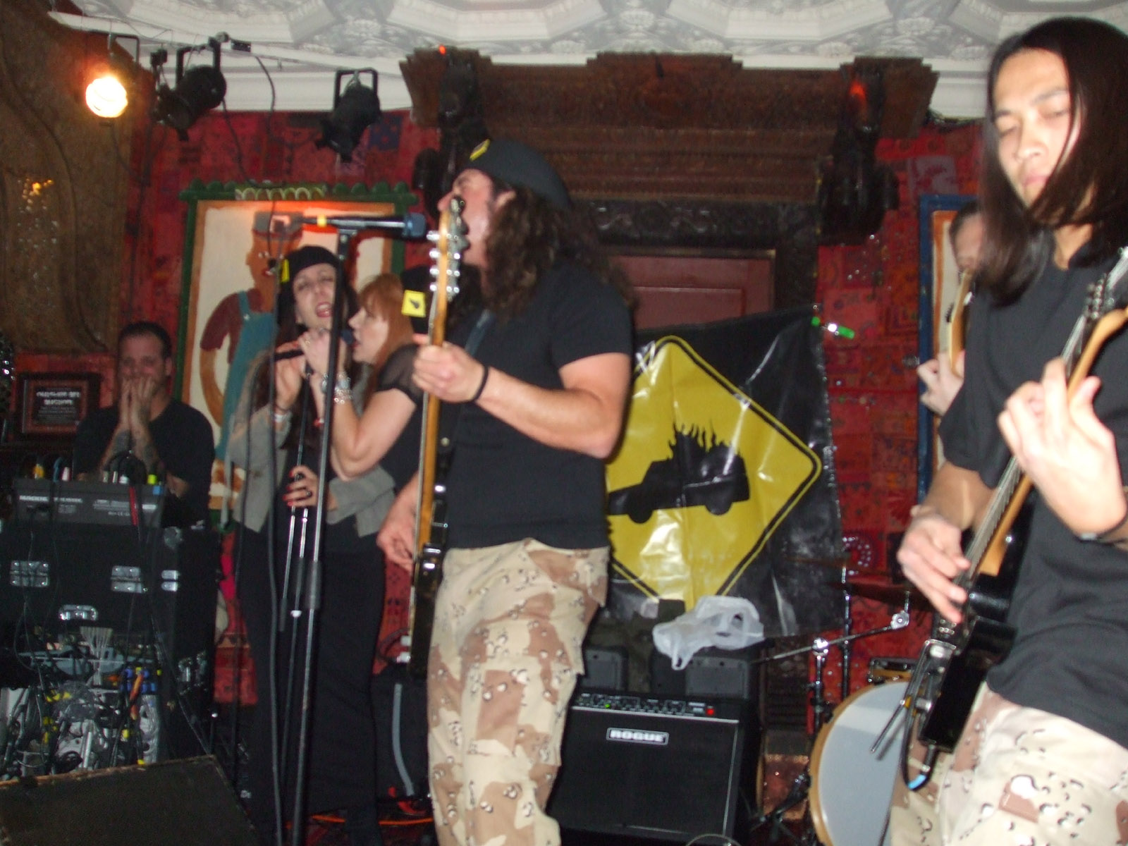 """House Of Blues """"Voodoo Lounge"""" (1-28-08  W.Hollywood, CA)  photo by Myra Gallarza"""