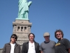 in front of the Statue Of Liberty (New York, NY, 9-28-09)  photo by Bill Nelson