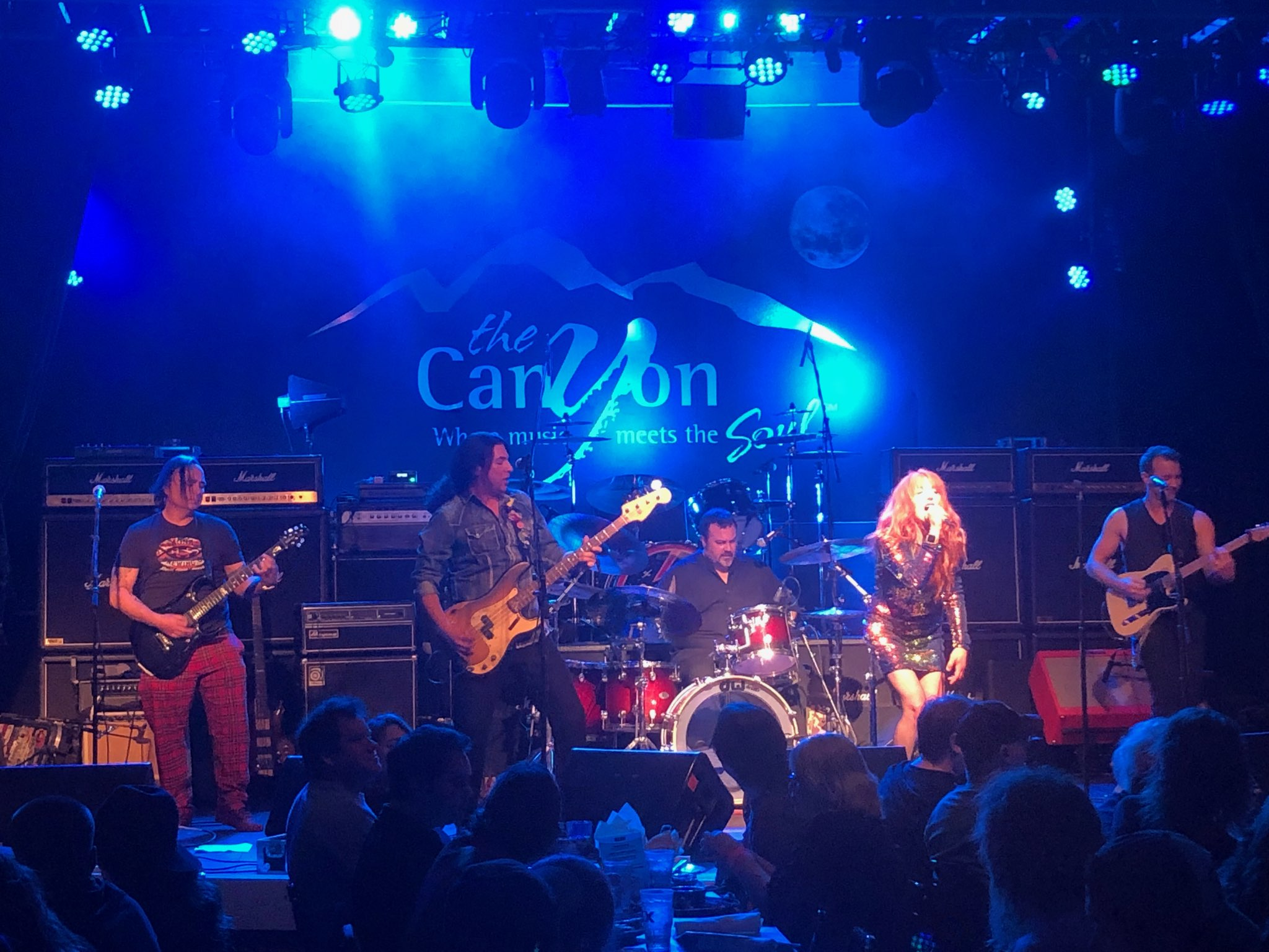 Performing at The Canyon in Agoura Hills, CA (1-26-19) Opening for Ace Frehley of KISS   photo by Matt Mellier