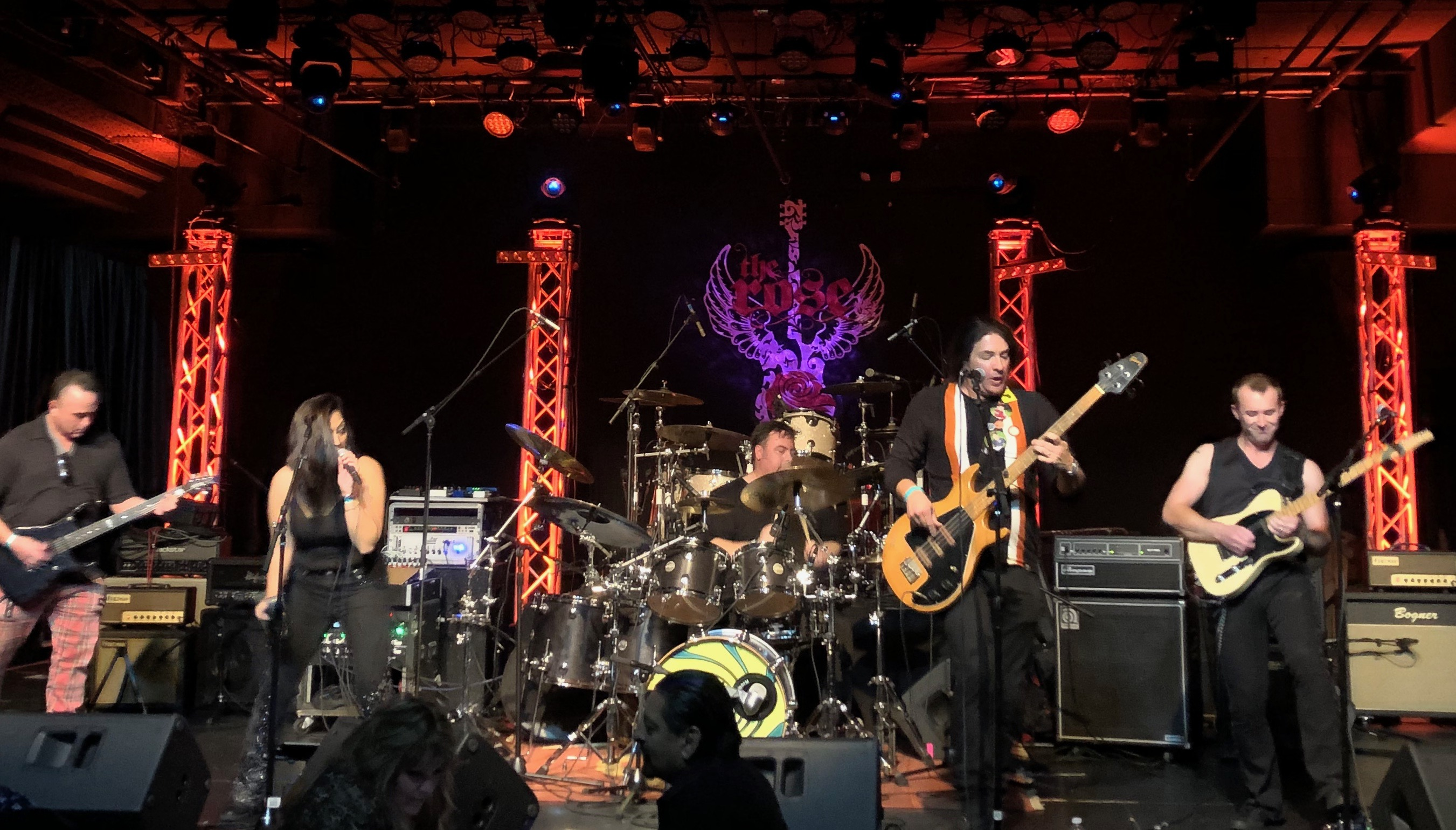 The Rose, Pasadena, CA (1-24-20) opening for Jack Russell's Great White    photo by Gina Spiropoulos