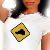 Slow Burning Car T-shirt - *Hot chick not included